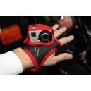 Kameras kesztyo GoPro Hero 1-2 / Handcam glove for single GoPro Hero HD camera